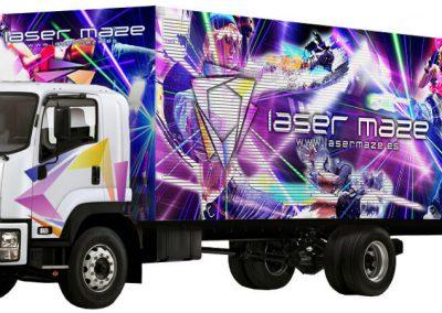 Camión Laberinto Láser